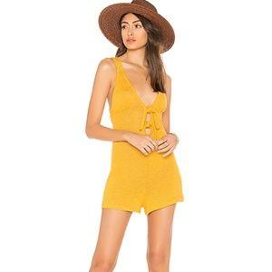 Pants - mustard romper
